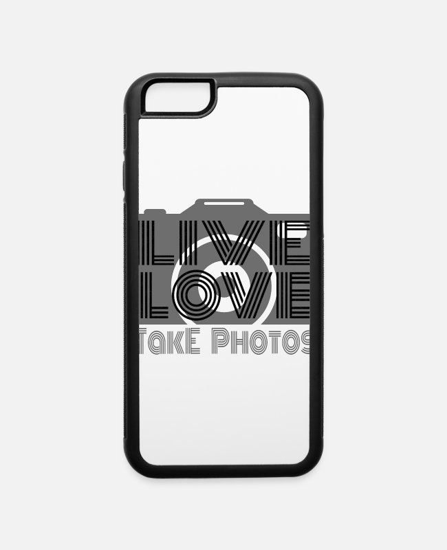 Beautiful iPhone Cases - Photographer gift - iPhone 6 Case white/black