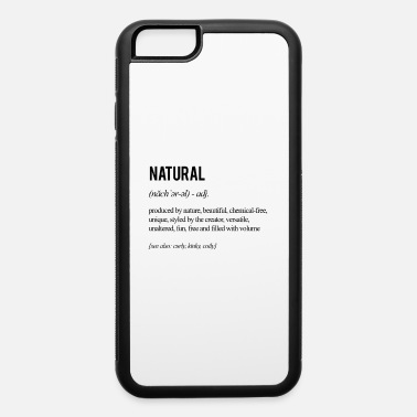 Natural Hair Definition - Black - iPhone 6 Case