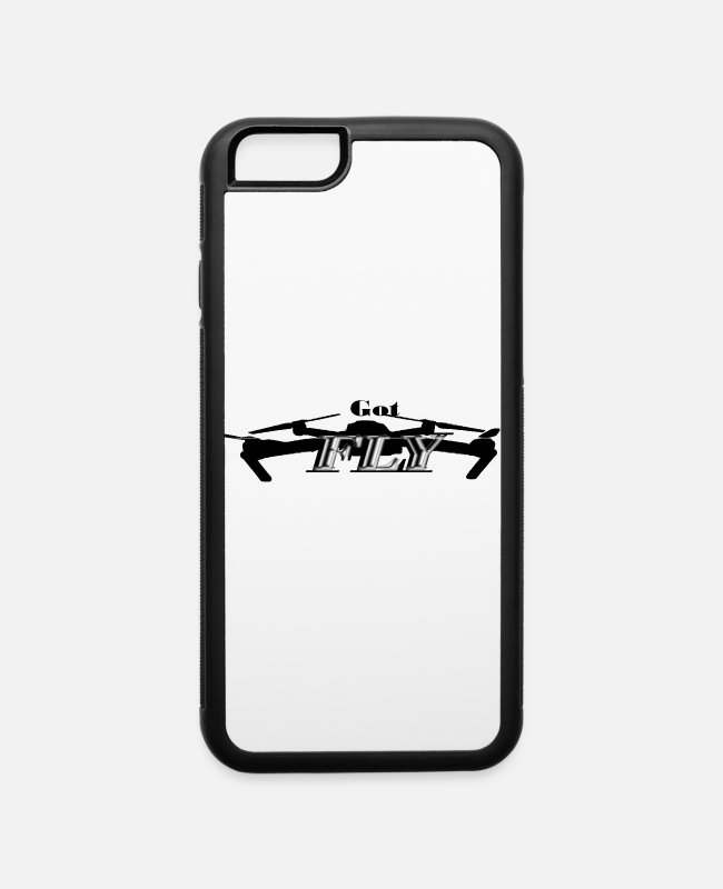 Pilot iPhone Cases - Drone Pilot Got Fly - iPhone 6 Case white/black