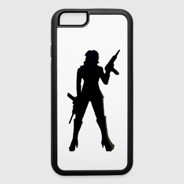 Uzi girl - iPhone 6/6s Rubber Case