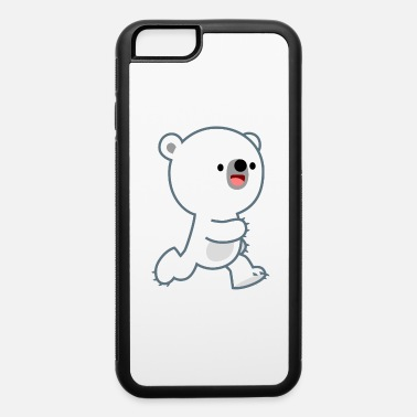 Cute Perky Polar Bear Cub by Cheerful Madness!! - iPhone 6 Case