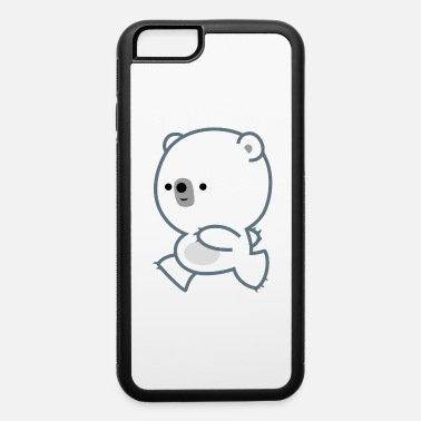 Cute Lively Polar Bear Cub by Cheerful Madness - iPhone 6 Case