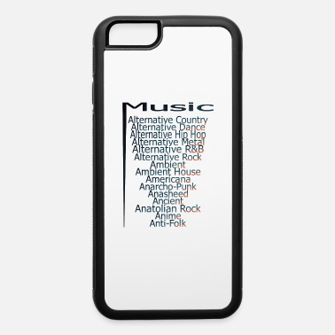 Alternative Hip Hop Music from A Z part3 - iPhone 6 Case