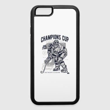 CHAMPIONS CUP HOCKEY - iPhone 6/6s Rubber Case