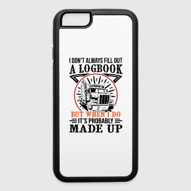 Trucker A Logbook made up - iPhone 6/6s Rubber Case