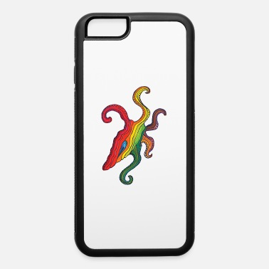 Lsd Tribal-Psychedelic Octopus - Art Illustration 36 - iPhone 6/6s Rubber Case