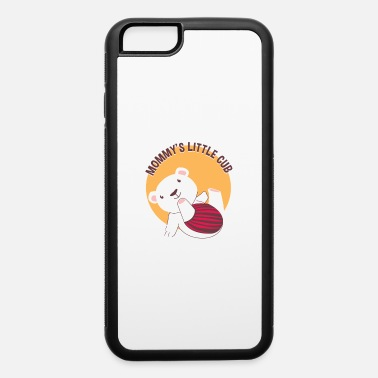 Cute Polar Bear Cub Mommy's Little Cub Cute Baby Polar Bear - iPhone 6 Case