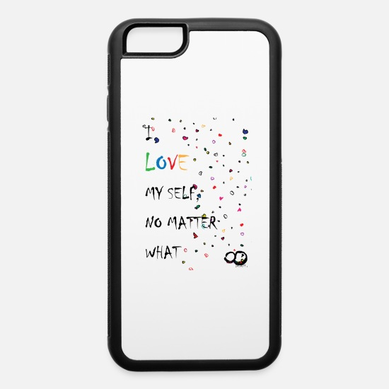 Love iPhone Cases - WitchUtopia Infinite - Love My Self - iPhone 6 Case white/black