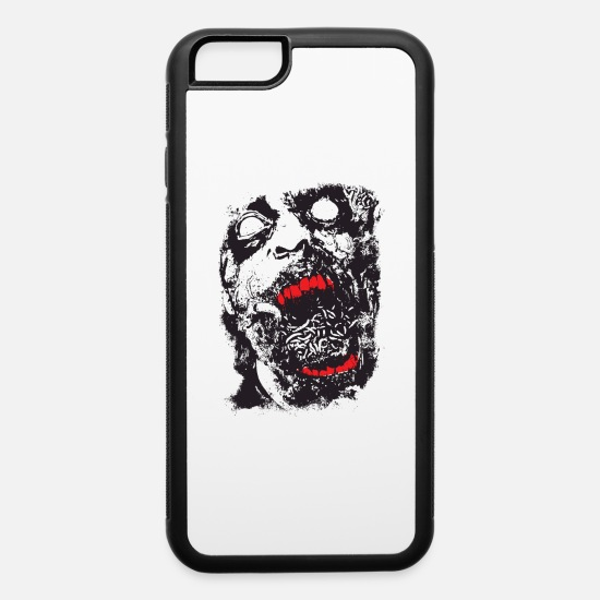 Horror iPhone Cases - Zombie - Geek - Horror - Scifi - iPhone 6 Case white/black