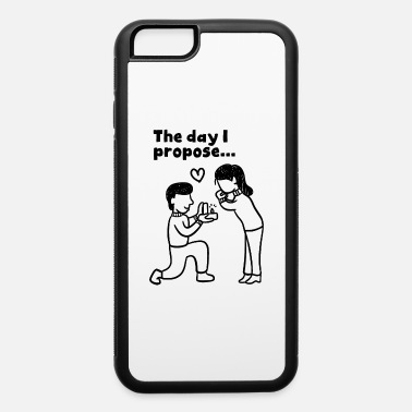 Couple Man proposes girlfriend for married ( men only ) - iPhone 6 Case