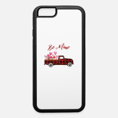Mining Truck Be Mine Plaid Truck - iPhone 6 Case