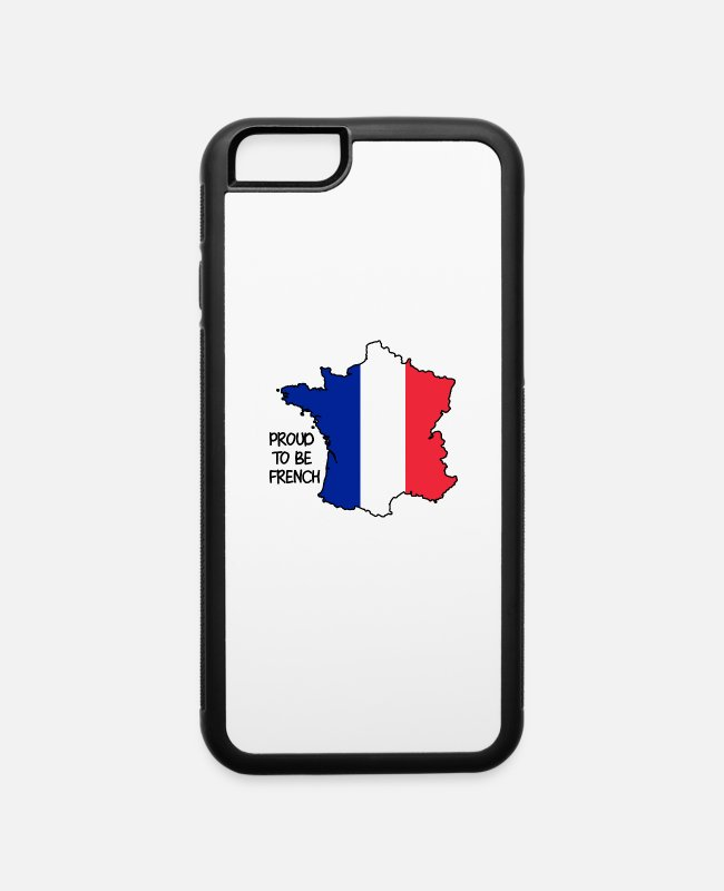 Strasbourg iPhone Cases - Proud to be French - iPhone 6 Case white/black