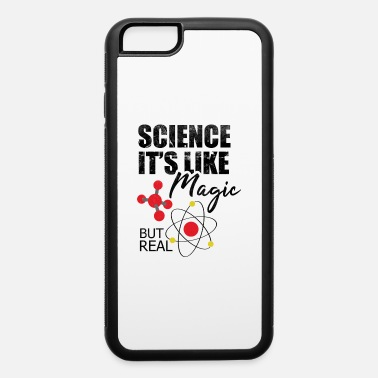 Atom Science ist like magic, bur real - Premium Design - iPhone 6/6s Rubber Case