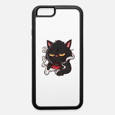 Banana Monday Coffee Cat - iPhone 6 Case
