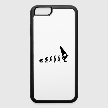 The Evolution of Windsurfing - iPhone 6/6s Rubber Case
