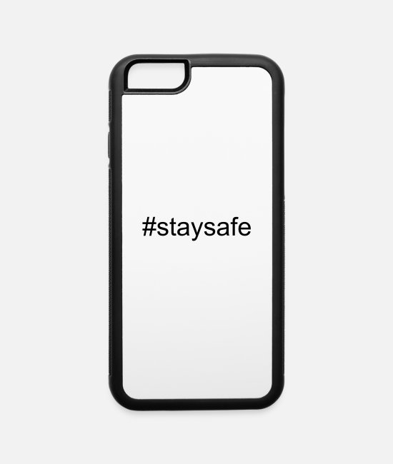 Koning iPhone Cases - Stay safe - iPhone 6 Case white/black
