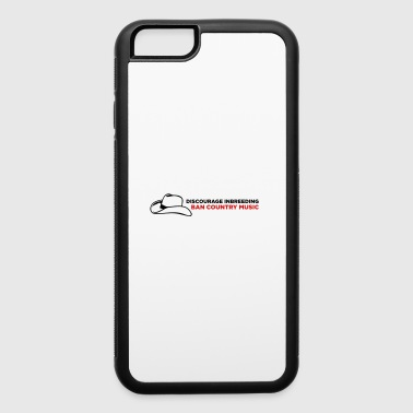 Please stop incest! Prohibits Country Music! - iPhone 6/6s Rubber Case
