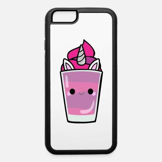 Bright Colors iPhone Cases - bright Frappe - iPhone 6 Case white/black