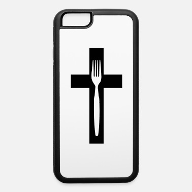 Fork scross and fork - iPhone 6/6s Rubber Case