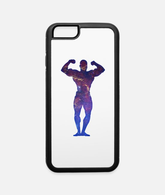 Stars iPhone Cases - Mr Universe - iPhone 6 Case white/black