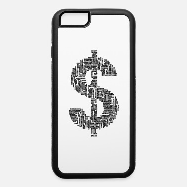 Currency Money Euphemisms Black - iPhone 6 Case