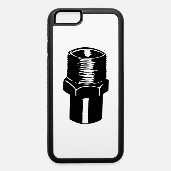 Federation iPhone Cases - Pipe union - iPhone 6 Case white/black