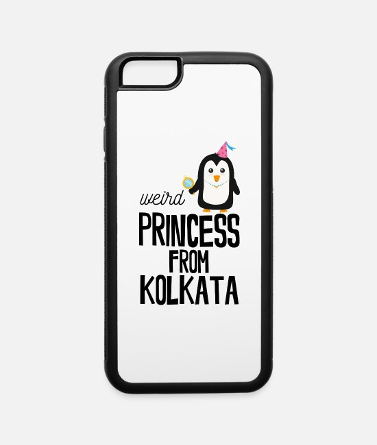 Nature iPhone Cases - weird Princess from Kolkata - iPhone 6 Case white/black
