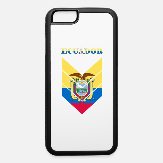 Latino iPhone Cases - ECUADOR - iPhone 6 Case white/black