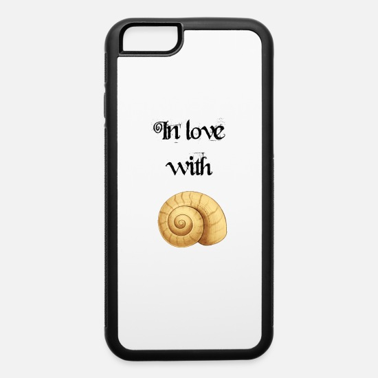 Christmas Present iPhone Cases - In love with Shells - iPhone 6 Case white/black