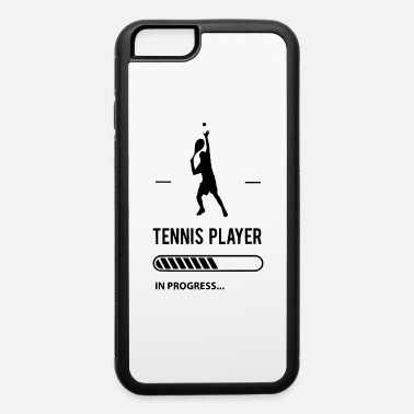 Coach tennsiplayer in progress - iPhone 6/6s Rubber Case