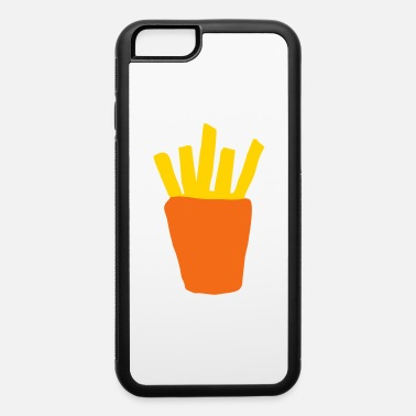 Pommesgabel chips french fries fast food snack burger gift - iPhone 6 Case