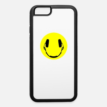 Smiley Headphones Headphones smiley - iPhone 6 Case