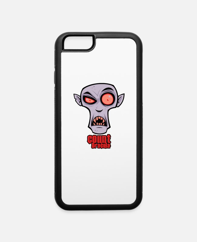 Movie iPhone Cases - Count dracula - iPhone 6 Case white/black