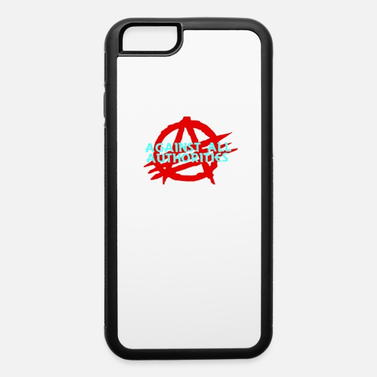 Art iPhone Cases - Against all authorities - iPhone 6 Case white/black