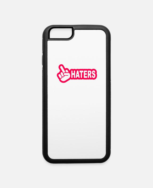 Movie iPhone Cases - Haters Jdm - iPhone 6 Case white/black