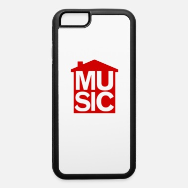 Musical Symbols House Music Symbol - iPhone 6 Case