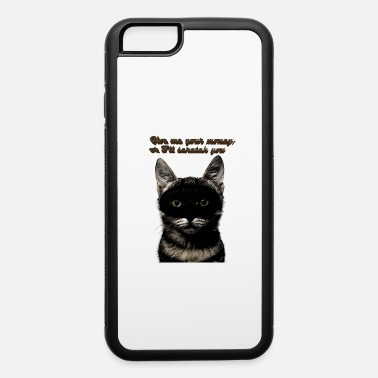 Robber Cat robber - iPhone 6/6s Rubber Case