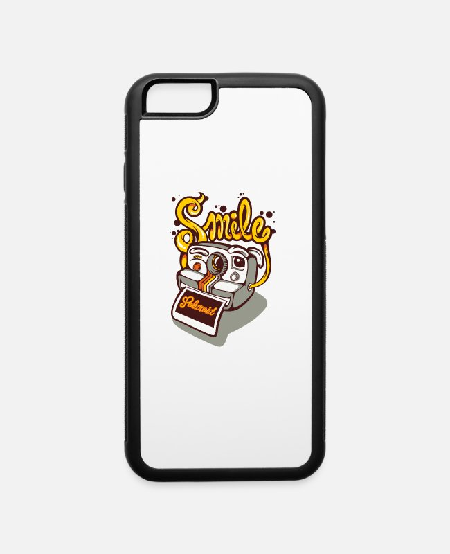 Quote iPhone Cases - Polaroid - iPhone 6 Case white/black