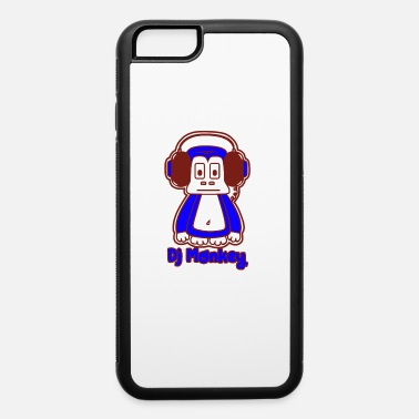 Monkey With Headphone Dj Monkey With Headphones funny tshirt - iPhone 6 Case