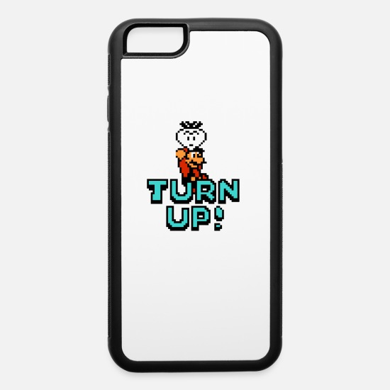 Game iPhone Cases - Turn Up - iPhone 6 Case white/black