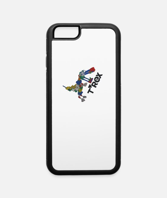 Movie iPhone Cases - T REX - iPhone 6 Case white/black