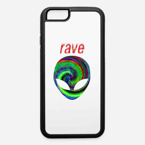 Music iPhone Cases - rave 12 - iPhone 6 Case white/black