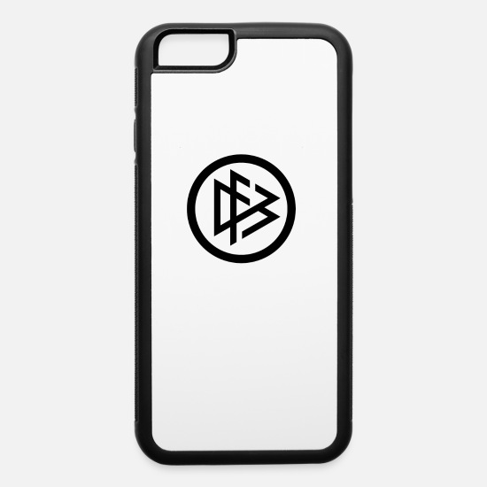 Stylish iPhone Cases - QA344 Stylish - iPhone 6 Case white/black