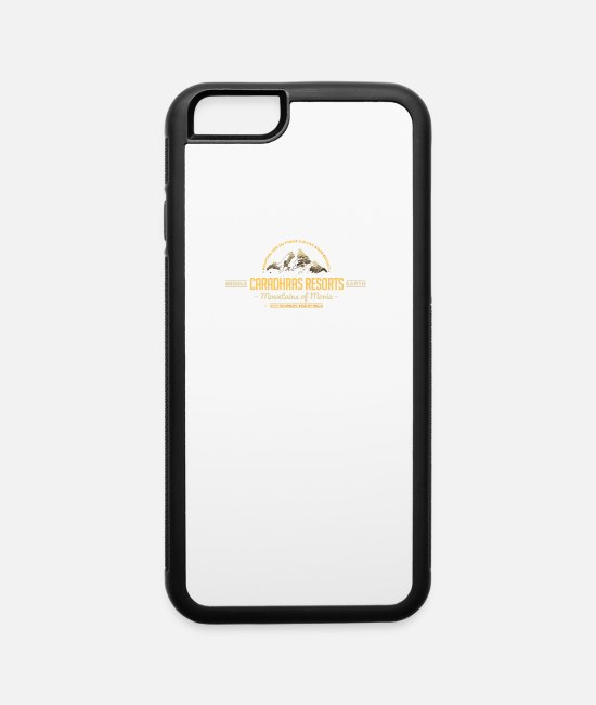Movie iPhone Cases - Caradhras Resorts - iPhone 6 Case white/black