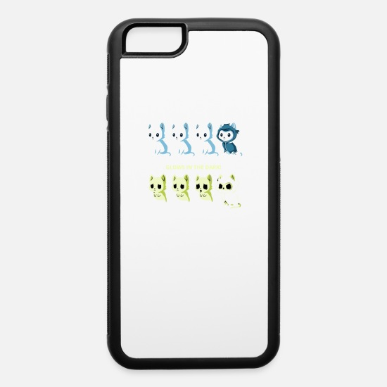 Game iPhone Cases - KITTEN OF DEATH - iPhone 6 Case white/black