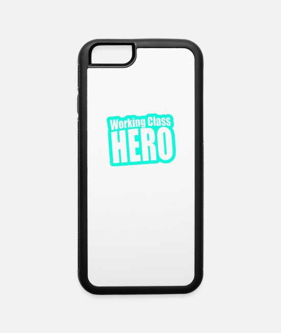 Movie iPhone Cases - Working Class Hero - iPhone 6 Case white/black