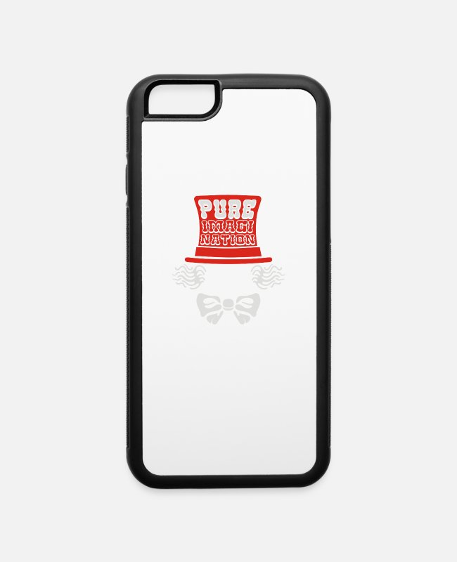 Pure-bred iPhone Cases - Pure Imagination - iPhone 6 Case white/black