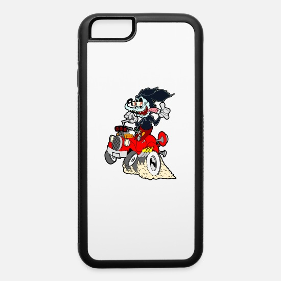 Mickey iPhone Cases - Mickey Fink - iPhone 6 Case white/black
