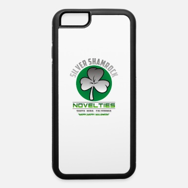 Silver Back Silver Shamrock - iPhone 6 Case