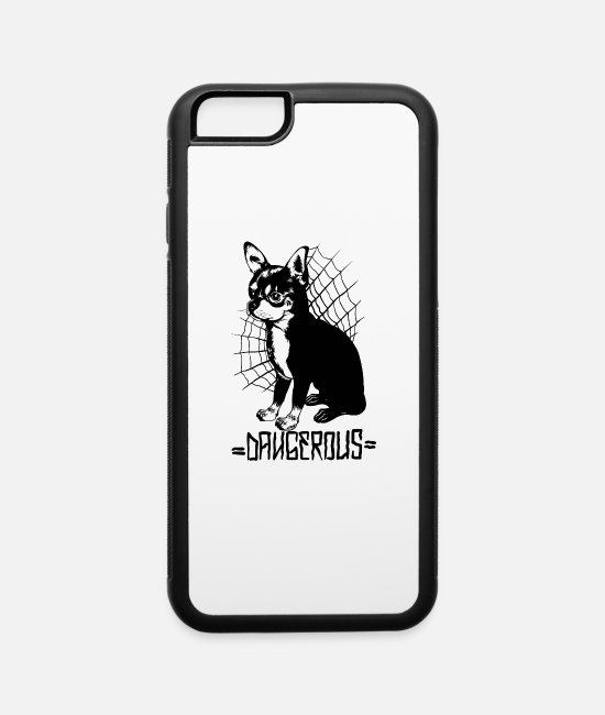 New iPhone Cases - Dangerous cicahua - iPhone 6 Case white/black
